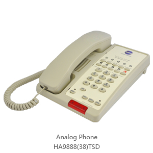 Analog Phone for Hotel / Business